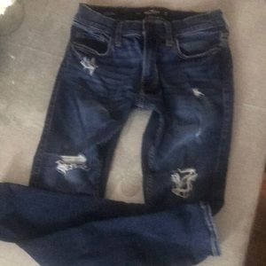 Hollister Jeans 28W x 30L Extreme Skinny & Stretch